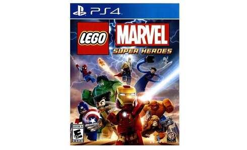 obrázek Hra WARNER BROS LEGO MARVEL SUPER HEROES (PS4)