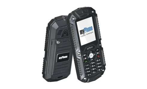obrázok Mobilný telefón myPhone HAMMER, čierna