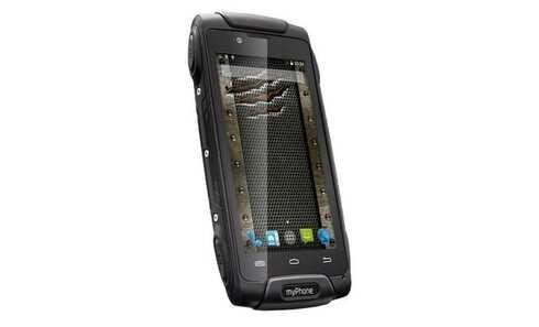 obrázek Mobilní telefon myPhone Hammer AXE 3G v černé barvě