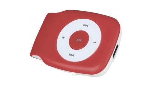 obrázek MP3 přehrávač SMARTON SM 1800 red