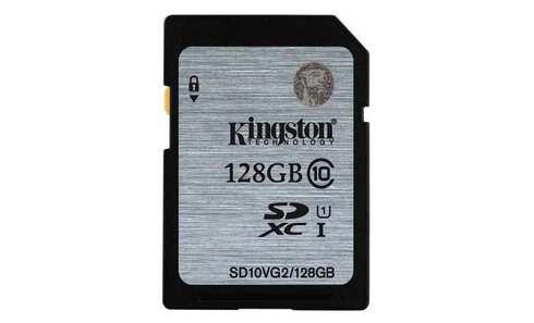 obrázek Paměťová karta KINGSTON SDXC 128GB UHS-I (SD10VG2/128GB)