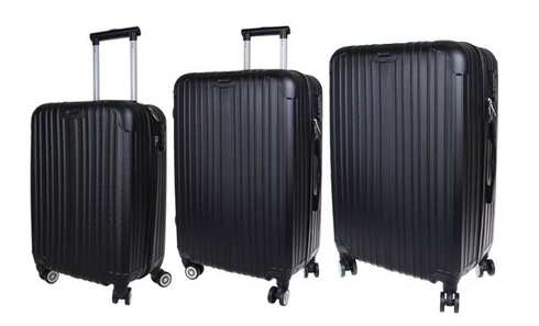 28b050c7fe7e3 Sada troch cestovných kufrov | VENDA.sk - Najlacnejšie portál ...