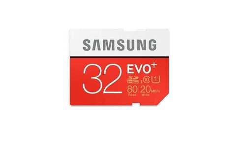 obrázek Paměťová karta SAMSUNG SDHC EVO  32GB Class10 UHS-I (MB-SC32D/EU)
