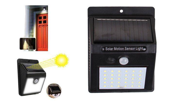 Solární světlo s detektorem pohybu 25 LED