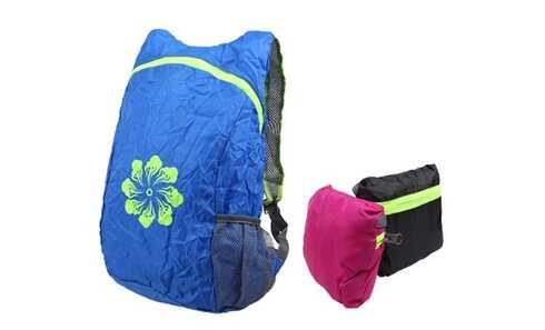 obrázek Skládací batoh s kytičkou