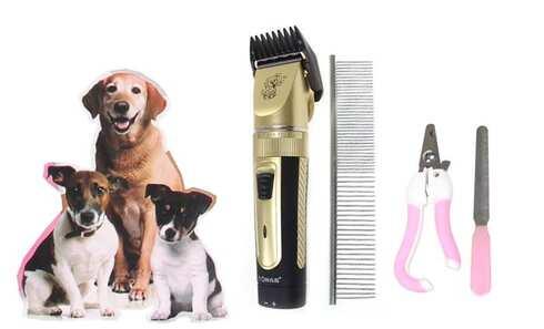 obrázek Stříhací set na psy