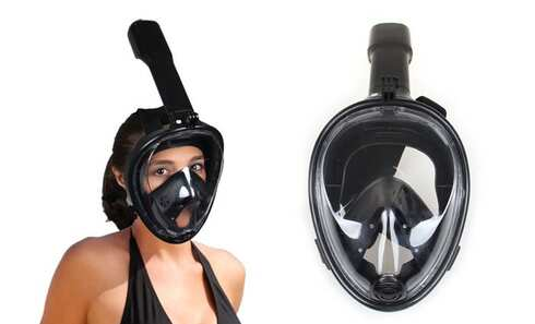 obrázok Celotvárová šnorchlovacie maska vel. L / XL