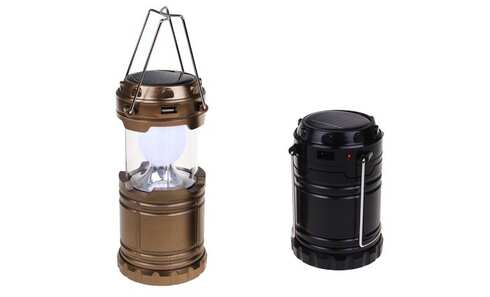 obrázok Solárne kempingový lampáš GL