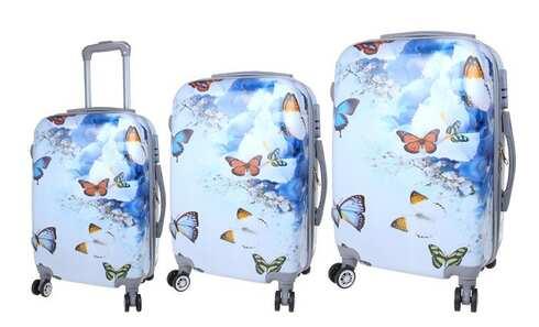 obrázok Sada 3 škrupinových kufrov (Jaro)