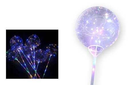 obrázek LED svítící balonek 5 ks