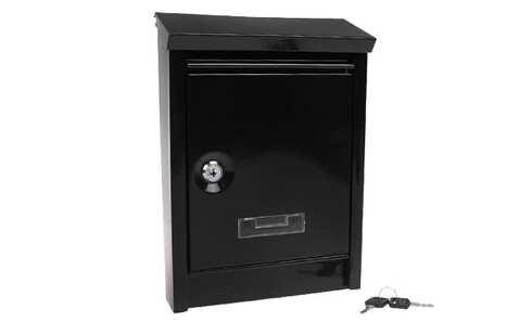 obrázok Schránka poštové kovová čierná