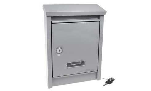 obrázok Schránka poštové kovová šedá