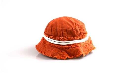 obrázek Dětský klobouk oranžový