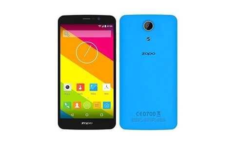 obrázek Mobilní telefon Zopo ZP370 Color S , modrý