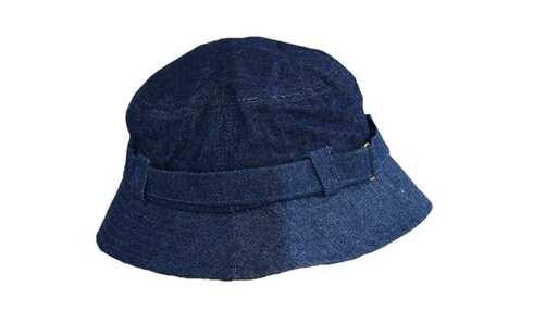 obrázek Klobouk džínový tmavě modrý s přezkou
