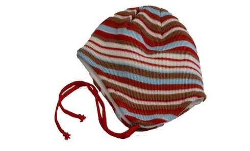 obrázek Čepice dětská zimní červeno-modrá