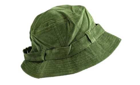obrázek Klobouk manšestrový světle zelený