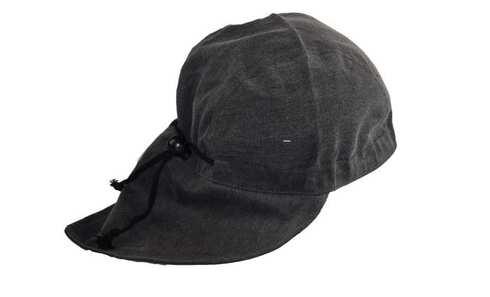 obrázek Čepice bavlněná s nátylkem šedá