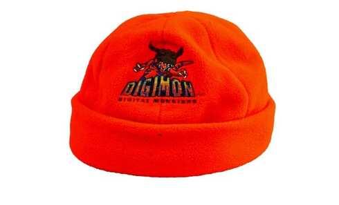 obrázek Dětská čepice fleecová oranžová