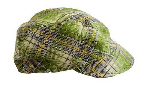 obrázek Kšiltovka kostkovaná šedo-zelená