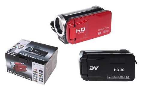 obrázok HD videokamera DV30