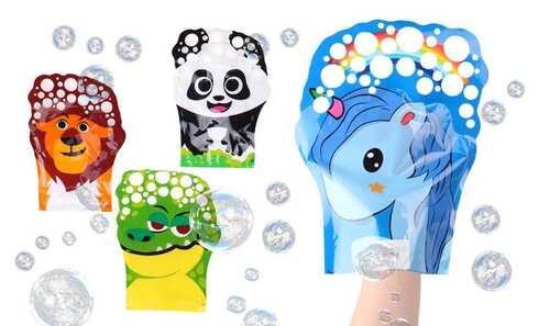 obrázek Zvířátkové rukavice na bubliny