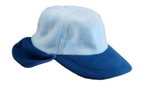 obrázek Kšiltovka fleecová modrá