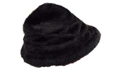 obrázek Klobouk černý z králičí srsti