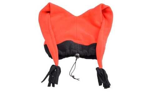 obrázok Čiapka fleecová červená s strapcami