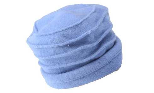 obrázek Klobouk vlněný světle modrý