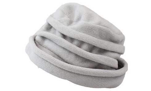 obrázek Klobouk zimní šedo-modrý