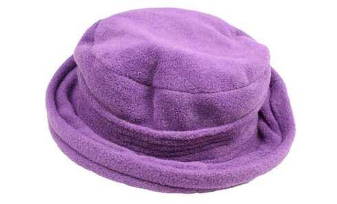 obrázok  Klobúk fleecový fialový