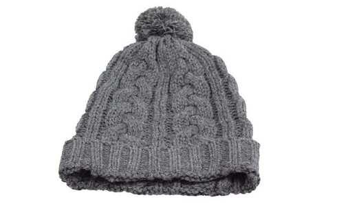 obrázek Čepice pletená šedá