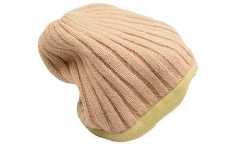 obrázek Čepice zimní hnědo-zelená