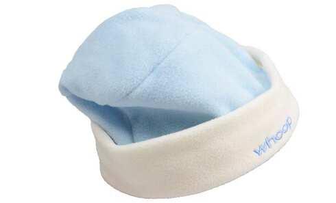 obrázek Čepice dětská zimní modro-bílá