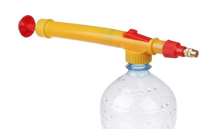 Postřikovač na PET lahev