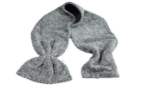 obrázek Šála šedo-černá melírovaná