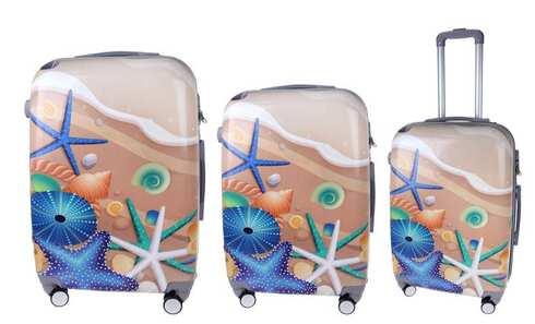 obrázok Sada 3 kufrov (Pláž)