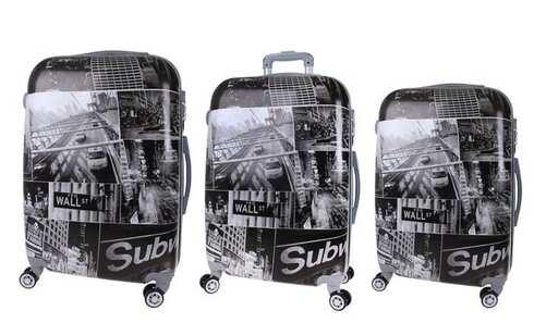 obrázek Sada 3 kufrů (Black - City)