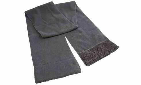 obrázek Šála černá fleecová