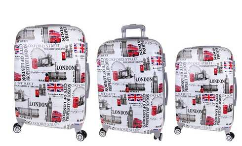 obrázok Sada 3 kufrov (London Street)