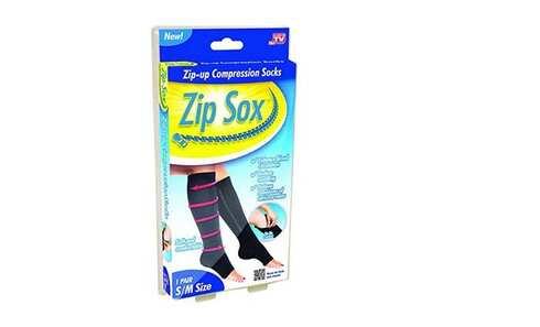obrázek Punčochy Zip Sox černé