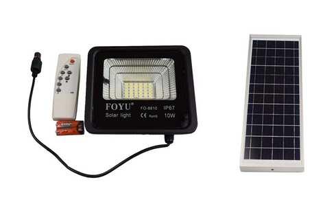 obrázok  Solárne LED svetlo + panel 10W