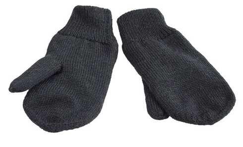 obrázok  Detské rukavice palčiaky čierne