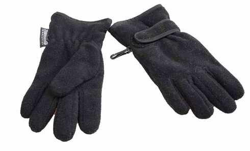 obrázek Dětské rukavice černé