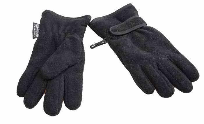 Dětské rukavice černé