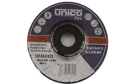 Brusný kotouč Unico Flex 125x6.0x22 - 1ks