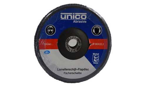 obrázok Lamelový kotúč 180x22,2mm/ A60/ 5 ks