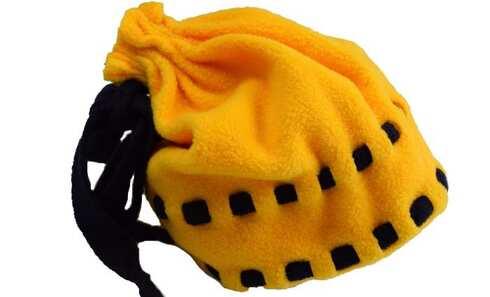 obrázek Čepice dětská fleecová žlutá