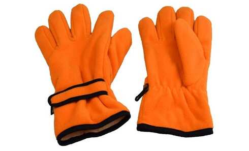 obrázok  Rukavice fleecové oranžové